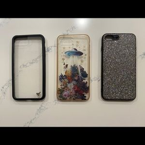 3 phone Cases for iPhone 7+